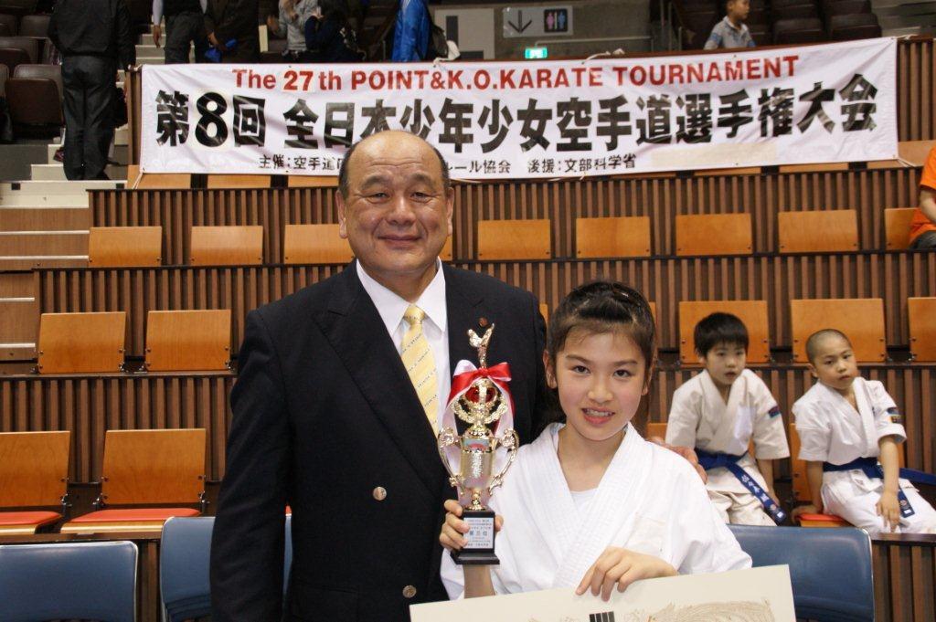 平成24年 全日本少年少女空手道選手権大会